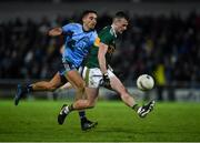 9 February 2019; Tom O'Sullivan of Kerry in action against Niall Scully of Dublin during the Allianz Football League Division 1 Round 3 match between Kerry and Dublin at Austin Stack Park in Tralee, Kerry. Photo by Diarmuid Greene/Sportsfile