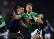 9 February 2019; Donal Vaughan of Mayo in action against Paul Graham of Cavan during the Allianz Football League Division 1 Round 3 match between Mayo and Cavan at Elverys MacHale Park in Castlebar, Mayo. Photo by Seb Daly/Sportsfile