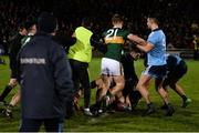 9 February 2019; Kerry and Dublin players clash after the Allianz Football League Division 1 Round 3 match between Kerry and Dublin at Austin Stack Park in Tralee, Co. Kerry. Photo by Diarmuid Greene/Sportsfile