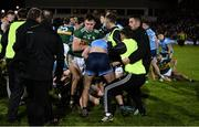 9 February 2019; Jack Barry of Kerry and James McCarthy of Dublin clash after the Allianz Football League Division 1 Round 3 match between Kerry and Dublin at Austin Stack Park in Tralee, Co. Kerry. Photo by Diarmuid Greene/Sportsfile