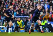 9 February 2019; Finn Russell of Scotland during the Guinness Six Nations Rugby Championship match between Scotland and Ireland at the BT Murrayfield Stadium in Edinburgh, Scotland. Photo by Ramsey Cardy/Sportsfile
