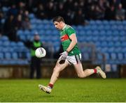 9 February 2019; Lee Keegan of Mayo during the Allianz Football League Division 1 Round 3 match between Mayo and Cavan at Elverys MacHale Park in Castlebar, Mayo. Photo by Seb Daly/Sportsfile