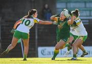 10 February 2019; Vikki Wall of Meath in action against Katie Kehoe of Offaly during the Lidl Ladies Football National League Division 3 Round 2 match between Meath and Offaly at Páirc Tailteann in Navan, Meath. Photo by Eóin Noonan/Sportsfile