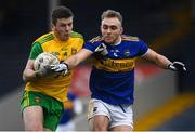 10 February 2019; Eoghan Bán Gallagher of Donegal in action against Kevin Fahey of Tipperary during the Allianz Football League Division 2 Round 3 match between Tipperary and Donegal at Semple Stadium in Thurles, Tipperary. Photo by Harry Murphy/Sportsfile