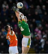 10 February 2019; Michael Newman of Meath in action against Aaron McKay of Armagh during the Allianz Football League Division 2 Round 3 match between Meath and Armagh at Páirc Tailteann in Navan, Meath. Photo by Eóin Noonan/Sportsfile