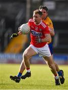 10 February 2019; Michael Hurley of Cork in action against Gordon Kelly of Clare during the Allianz Football League Division 2 Round 3 match between Clare and Cork at Cusack Park in Ennis, Clare. Photo by Sam Barnes/Sportsfile