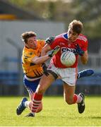 10 February 2019; Ian Maguire of Cork in action against Keelan Sexton of Clare during the Allianz Football League Division 2 Round 3 match between Clare and Cork at Cusack Park in Ennis, Clare. Photo by Sam Barnes/Sportsfile