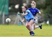 10 February 2019; Siobhan Woods of Dublin in action against Samantha Lambert of Tipperary during the Lidl Ladies NFL Round 2 match between Tipperary and Dublin at Ardfinnan in Tipperary. Photo by Matt Browne/Sportsfile