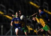 10 February 2019; Kevin O'Halloran and Steven O'Brien of Tipperary in action against Caolan McGonagle and Stephen McMenamin of Donegal during the Allianz Football League Division 2 Round 3 match between Tipperary and Donegal at Semple Stadium in Thurles, Tipperary. Photo by Harry Murphy/Sportsfile