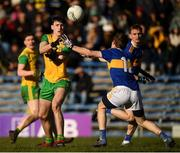10 February 2019; Michael Langan of Donegal in action against Brian Fox of Tipperary during the Allianz Football League Division 2 Round 3 match between Tipperary and Donegal at Semple Stadium in Thurles, Tipperary. Photo by Harry Murphy/Sportsfile