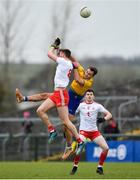 10 February 2019; Ultan Harney of Roscommon in action against Brian Kennedy of Tyrone during the Allianz Football League Division 1 Round 3 match between Roscommon and Tyrone at Dr. Hyde Park in Roscommon. Photo by Seb Daly/Sportsfile