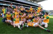 10 February 2019; Dunnamaggin players celebrate with the cup after the AIB GAA Hurling All-Ireland Junior Championship Final match between Castleblayney and Dunnamaggin at Croke Park in Dublin. Photo by Piaras Ó Mídheach/Sportsfile