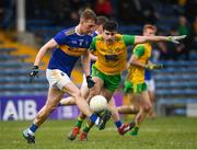 10 February 2019; Dáire Brennan of Tipperary in action against Caolan McGonagle of Donegal during the Allianz Football League Division 2 Round 3 match between Tipperary and Donegal at Semple Stadium in Thurles, Tipperary. Photo by Harry Murphy/Sportsfile