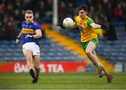 10 February 2019; Kevin Fahey of Tipperary in action against Michael Langan of Donegal during the Allianz Football League Division 2 Round 3 match between Tipperary and Donegal at Semple Stadium in Thurles, Tipperary. Photo by Harry Murphy/Sportsfile