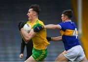 10 February 2019; Jason McGee of Donegal in action against Emmett Moloney of Tipperary during the Allianz Football League Division 2 Round 3 match between Tipperary and Donegal at Semple Stadium in Thurles, Tipperary. Photo by Harry Murphy/Sportsfile