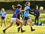 10 February 2019; Oonagh Whyte of Dublin in action against Maria Curley of Tipperary during the Lidl Ladies NFL Round 2 match between Tipperary and Dublin at Ardfinnan in Tipperary. Photo by Matt Browne/Sportsfile