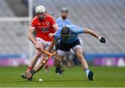 10 February 2019; Seán McInerney of Oranmore-Maree in action against Jack Buckley of Charleville during the AIB GAA Hurling All-Ireland Intermediate Championship Final match between Charleville and Oranmore-Maree at Croke Park in Dublin. Photo by Piaras Ó Mídheach/Sportsfile