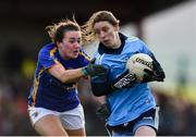 10 February 2019; Oonagh Whyte of Dublin in action against Rachel O'Donnell of Tipperary during the Lidl Ladies NFL Round 2 match between Tipperary and Dublin at Ardfinnan in Tipperary. Photo by Matt Browne/Sportsfile