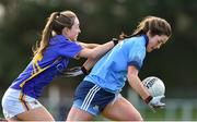 10 February 2019; Sarah Fagan of Dublin in action against Caoimhe Condon of Tipperary during the Lidl Ladies NFL Round 2 match between Tipperary and Dublin at Ardfinnan in Tipperary. Photo by Matt Browne/Sportsfile