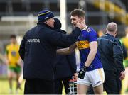 10 February 2019; Tipperary manager Liam Kearns and Dáire Brennan of Tipperary following the Allianz Football League Division 2 Round 3 match between Tipperary and Donegal at Semple Stadium in Thurles, Tipperary. Photo by Harry Murphy/Sportsfile