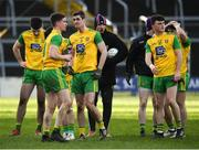 10 February 2019; Donegal players look dejected following the Allianz Football League Division 2 Round 3 match between Tipperary and Donegal at Semple Stadium in Thurles, Tipperary. Photo by Harry Murphy/Sportsfile