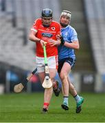 10 February 2019; Conor Buckley of Charleville in action against Alan Bannon Oranmore-Maree during the AIB GAA Hurling All-Ireland Intermediate Championship Final match between Charleville and Oranmore-Maree at Croke Park in Dublin. Photo by Piaras Ó Mídheach/Sportsfile