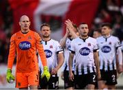 9 February 2019; Dundalk goalkeeper Gary Rogers prior to the 2019 President's Cup Final between Cork City and Dundalk at Turners Cross in Cork. Photo by Stephen McCarthy/Sportsfile