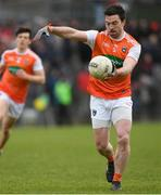 10 February 2019; Aidan Forker of Armagh during the Allianz Football League Division 2 Round 3 match between Meath and Armagh at Páirc Tailteann in Navan, Meath. Photo by Eóin Noonan/Sportsfile