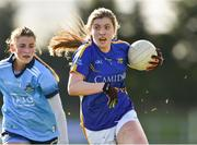 10 February 2019; Cora Maher of Tipperary in action against Aoife Kane of Dublin during the Lidl Ladies NFL Round 2 match between Tipperary and Dublin at Ardfinnan in Tipperary. Photo by Matt Browne/Sportsfile