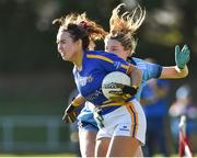 10 February 2019; Brid Condon of Tipperary in action against Jennifer Dunne of Dublin during the Lidl Ladies NFL Round 2 match between Tipperary and Dublin at Ardfinnan in Tipperary. Photo by Matt Browne/Sportsfile