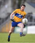 10 February 2019; Kevin Hartnett of Clare during the Allianz Football League Division 2 Round 3 match between Clare and Cork at Cusack Park in Ennis, Clare. Photo by Sam Barnes/Sportsfile