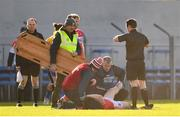 10 February 2019; Liam O'Donovan of Cork receives medical treatment during the Allianz Football League Division 2 Round 3 match between Clare and Cork at Cusack Park in Ennis, Clare. Photo by Sam Barnes/Sportsfile