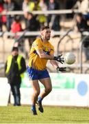 10 February 2019; Sean Collins of Clare in action against Kevin O'Donovan, left, and Tómas Clancy of Cork during the Allianz Football League Division 2 Round 3 match between Clare and Cork at Cusack Park in Ennis, Clare. Photo by Sam Barnes/Sportsfile