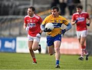 10 February 2019; Sean Collins of Clare during the Allianz Football League Division 2 Round 3 match between Clare and Cork at Cusack Park in Ennis, Clare. Photo by Sam Barnes/Sportsfile