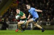 9 February 2019; Dara Moynihan of Kerry in action against Brian Fenton of Dublin during the Allianz Football League Division 1 Round 3 match between Kerry and Dublin at Austin Stack Park in Tralee, Co. Kerry. Photo by Diarmuid Greene/Sportsfile