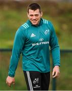11 February 2019; CJ Stander during Munster Rugby Squad Training at University of Limerick in Limerick. Photo by Piaras Ó Mídheach/Sportsfile