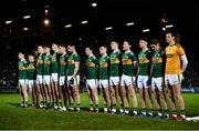 9 February 2019; The Kerry team stand for the playing of the national anthem prior to the Allianz Football League Division 1 Round 3 match between Kerry and Dublin at Austin Stack Park in Tralee, Co. Kerry. Photo by Diarmuid Greene/Sportsfile