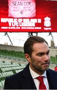 11 February 2019; Former Republic of Ireland and Liverpool player Jason McAteer at the launch of the Liverpool Legends v Republic of Ireland XI game at Aviva Stadium. The game, which will be played in Aviva Stadium on Friday, April 12, will act as a fundraising drive for supporter Sean Cox, who continues to recovery following bad injuries sustained ahead of a Liverpool game. Photo by Stephen McCarthy/Sportsfile