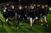 9 February 2019; Dublin players including Eoin Murchan, captain Jonny Cooper, goalkeeper Evan Comerford, and Sean Bugler make their way out for the Allianz Football League Division 1 Round 3 match between Kerry and Dublin at Austin Stack Park in Tralee, Co. Kerry. Photo by Diarmuid Greene/Sportsfile