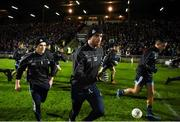 9 February 2019; Eric Lowndes, left, and Michael Darragh Macauley makes their way out for the Allianz Football League Division 1 Round 3 match between Kerry and Dublin at Austin Stack Park in Tralee, Co. Kerry. Photo by Diarmuid Greene/Sportsfile