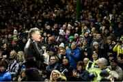9 February 2019; Musician Liam O'Connor entertains the crowd prior to the Allianz Football League Division 1 Round 3 match between Kerry and Dublin at Austin Stack Park in Tralee, Co. Kerry. Photo by Diarmuid Greene/Sportsfile