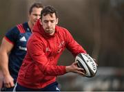 11 February 2019; Darren Sweetnam during Munster Rugby Squad Training at University of Limerick in Limerick. Photo by Piaras Ó Mídheach/Sportsfile