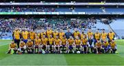 9 February 2019; The Beaufort squad before the AIB GAA Football All-Ireland Junior Championship Final match between Beaufort and Easkey at Croke Park in Dublin. Photo by Piaras Ó Mídheach/Sportsfile
