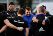 11 February 2019; Josh Murphy, left, and Jack McGrath during Leinster Rugby squad training at The High School in Rathgar, Dublin. Photo by Ramsey Cardy/Sportsfile