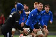 11 February 2019; Rhys Ruddock during Leinster Rugby squad training at The High School in Rathgar, Dublin. Photo by Ramsey Cardy/Sportsfile