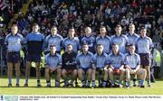 4 October 2003; Dublin team. All-Ireland U21 Football Championship Final, Dublin v Tyrone, Pairc Tailteann, Navan, Co. Meath. Picture credit; Matt Browne / SPORTSFILE *EDI*