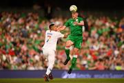 2 June 2018; Declan Rice of Republic of Ireland and Bobby Wood of United States during the International Friendly match between Republic of Ireland and the United States at the Aviva Stadium in Dublin. Photo by Stephen McCarthy/Sportsfile