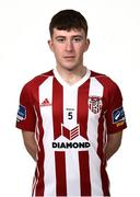 7 February 2019; Shane McNamee during Derry City squad portraits at the Ryan McBride Brandywell Stadium in Derry. Photo by Oliver McVeigh/Sportsfile