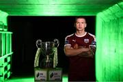 12 February 2019; Stephen Walsh of Galway United during the launch of the 2019 SSE Airtricity League season at the Aviva Stadium, Lansdowne Road in Dublin. Photo by Stephen McCarthy/Sportsfile