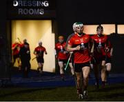 12 February 2019; Shane Kingston of UCC runs out for the second half during the Electric Ireland Fitzgibbon Cup Semi-Final match between University College Cork and DCU Dóchas Éireann at the WIT Sports Campus in Carriganore, Waterford. Photo by Harry Murphy/Sportsfile